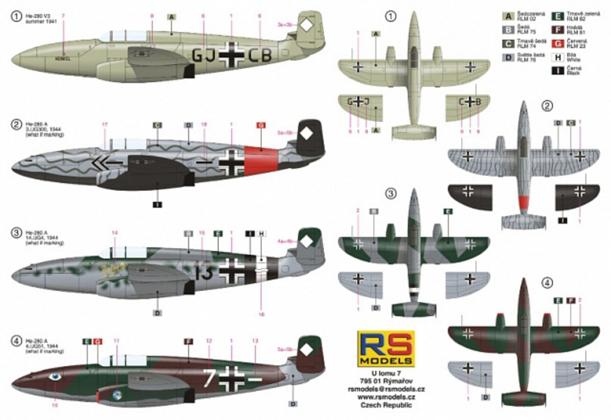 He-280 with HeS engine