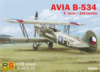 92066 Avia B.534 II. version