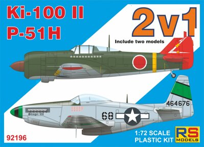 92196 Ki-100 II + P-51 H Double kit